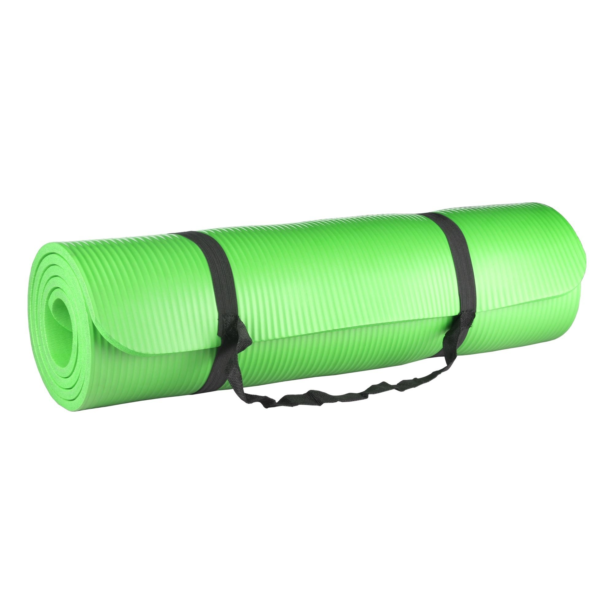 Tapete para Yoga e Pilates 10mm Verde