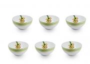 Jogo de Bowls Para Sopa 6 Peças Bananas