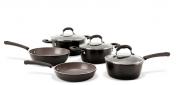 Jogo de Panelas 5 Peças Ceramic Life Select Carbono Brinox