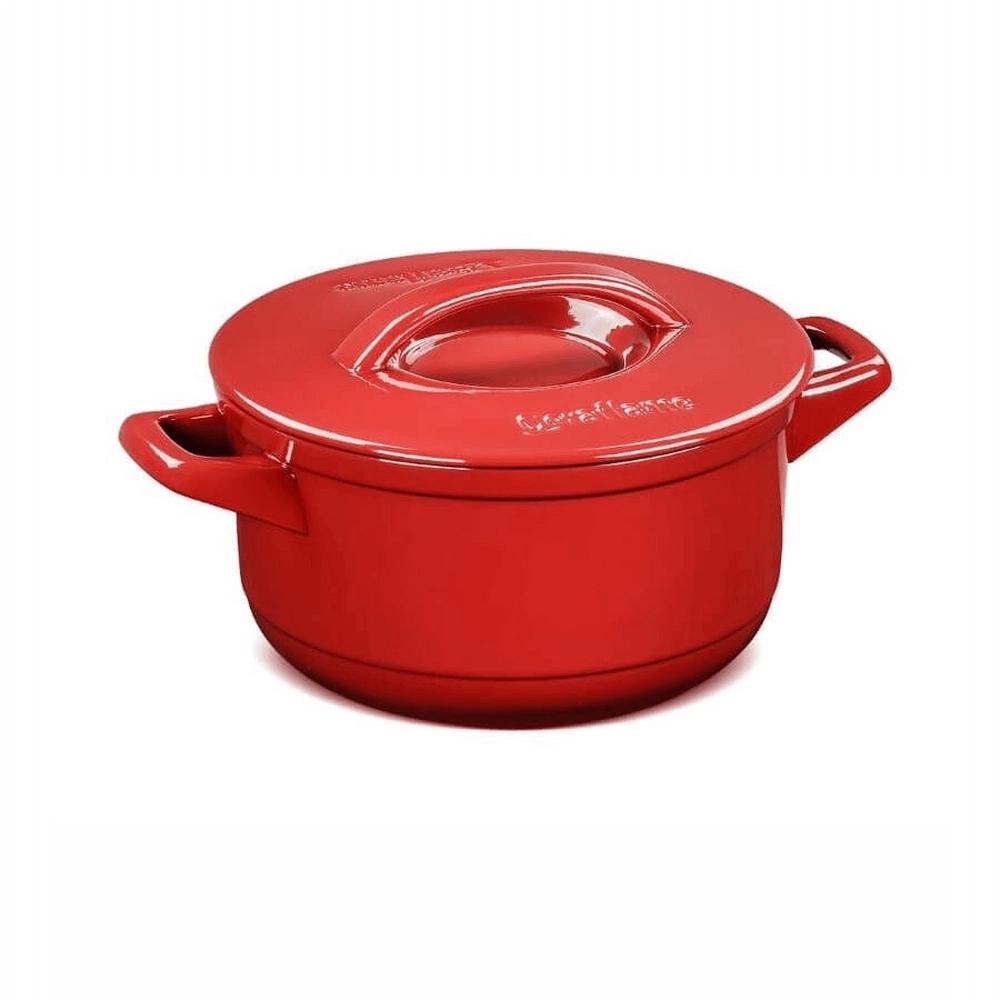 Caçarola De Cerâmica Ceraflame Duo+ 22Cm  3200 ml Pomodoro
