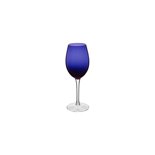 Jogo Com 6 Taças para Vinho Azul Royal 310ML