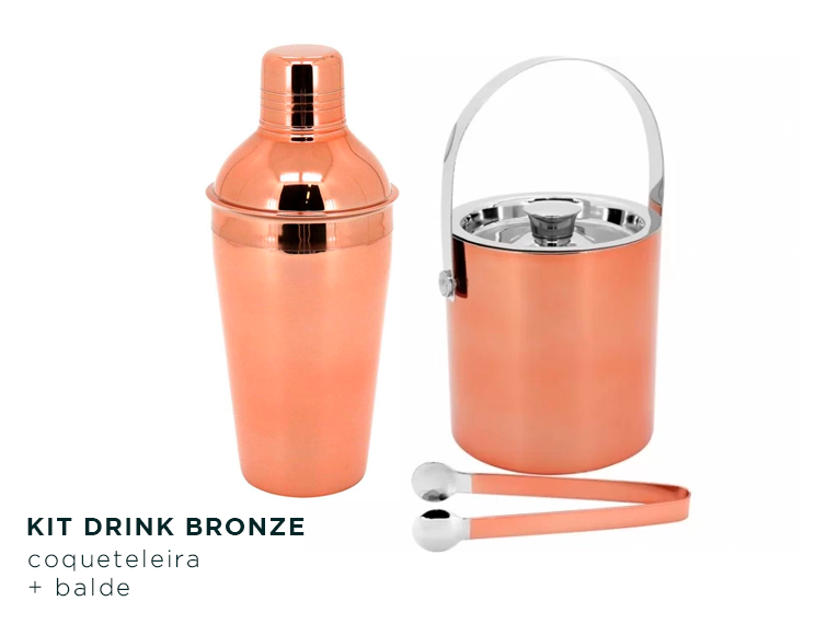 Kit Drink Bronze