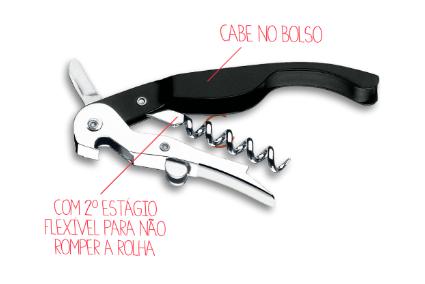 Saca Rolha Brinox 12,5 cm