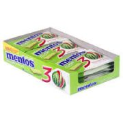 CHICLETE MENTOS PURE FRESH 3 CAMADAS DISPLAY C/15UN ESCOLHA O SABOR