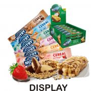 DISPLAY BARRA DE CEREAL NUTRY 24UNX22G ESCOLHA SEU SABOR