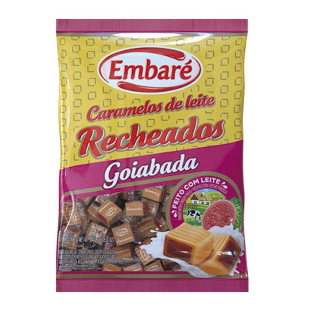 BALA CARAMELO EMBARÉ TRADICIONAL 600G / 660G ESCOLHA O SABOR