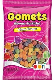 BALA GOMA GOMETS DORI 190G / 600G / 700G / 1KG ESCOLHA O SABOR