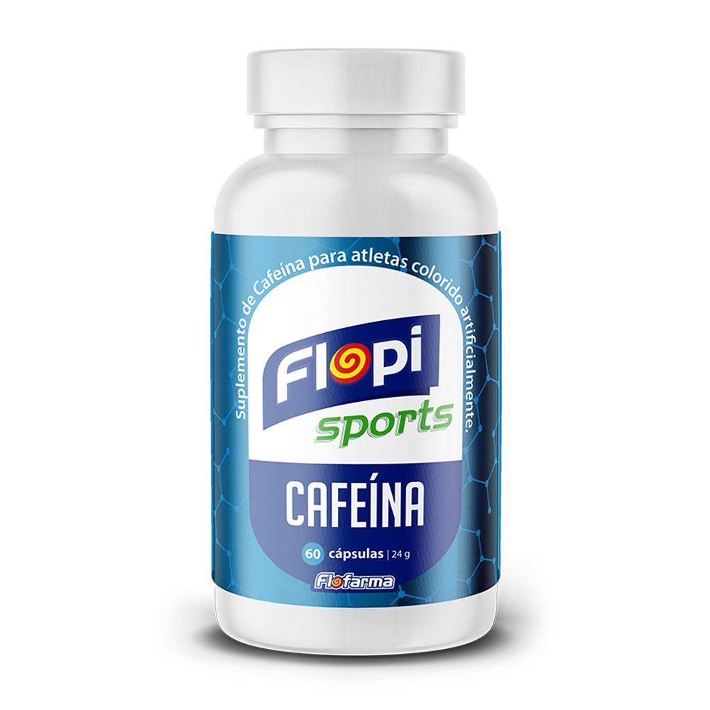 CAFEÍNA FLOPI SPORTS POTE 60 CÁPSULAS