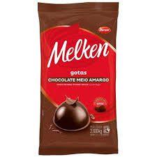 CHOCOLATE MELKEN GOTAS 1,05KG / 2,1KG ESCOLHA O TAMANHO E SABOR