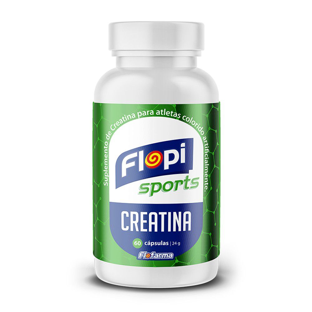 CREATINA FLOPI SPORTS POTE 60 CÁPSULAS