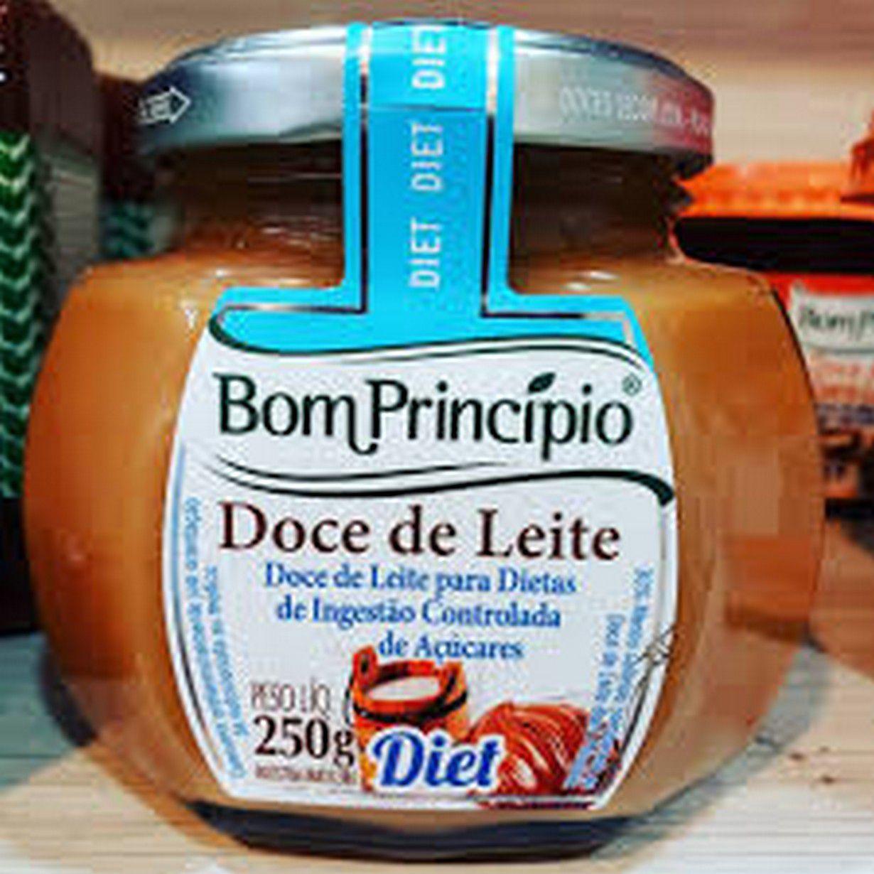 DOCE DE LEITE DIET 250G BOM PRINCÍPIO