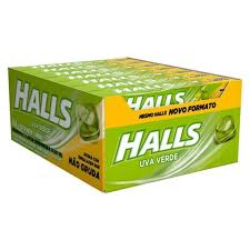 DROPS HALLS DISPLAY ESCOLHA O SABOR