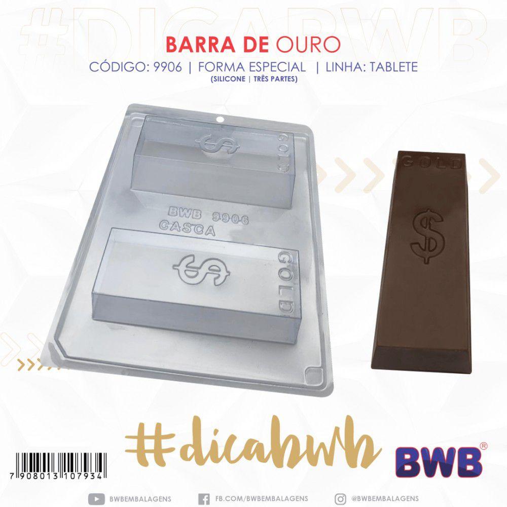 FORMAS ESPECIAIS PARA CHOCOLATE ACETATO + SILICONE BWB