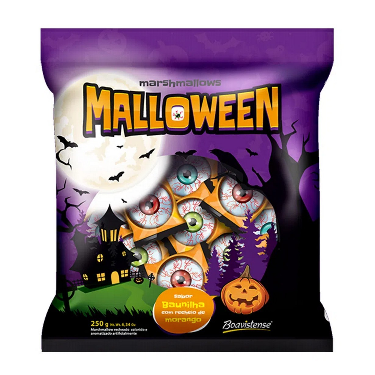 MARSHMALLOW MALLOWEEN PC250G BOAVISTENSE
