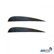 DUOTONE - FINSET CARBON 30- WK 2,0 -BLACK (2 PCS) SPARE PART