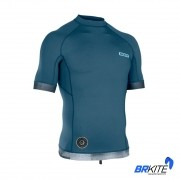 ION - LYCRA RASHGUARD MEN MANGA CURTA SS 2019 DUST BLUE