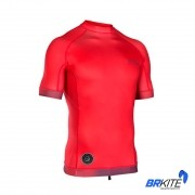 ION - LYCRA RASHGUARD MEN MANGA CURTA SS 2019 RED