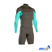 ION - WETSUIT FL - ONYX ELEMENT SHORTY LS 2/2 FZ DL