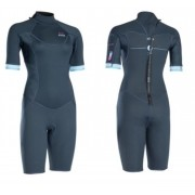 ION - WETSUIT WOMEN JEWEL ELEMENT SHORTY SS 2/2 DARK BLUE