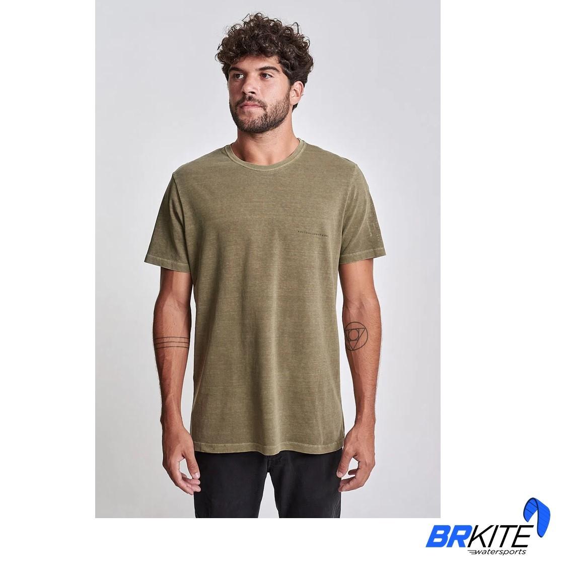 AUSTRAL - Camiseta Ethnic Verde Militar