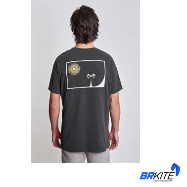 AUSTRAL - Camiseta Inside Del Pacífico Preto Old