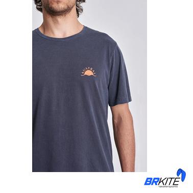AUSTRAL - Camiseta Keep Our Beaches Clean Azul Midnight