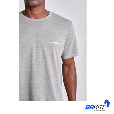 AUSTRAL - Camiseta Kite II Cinza Claro