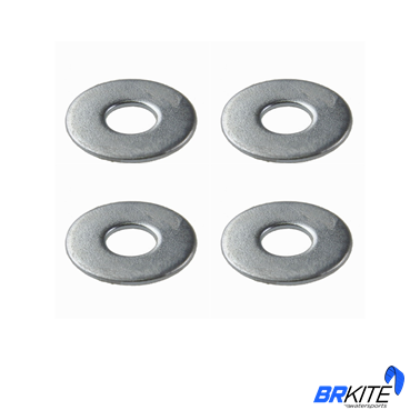 BRKITE - ARRUELA LISA ABA LARGA INOX M8 5/16 (4 PCS)