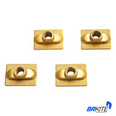 DUOTONE - TWINTIP TRACK NUT (4 PCS)