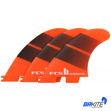 FCS - QUILHAS ACCELERATOR NEO GLASS FCS2 LARANJA