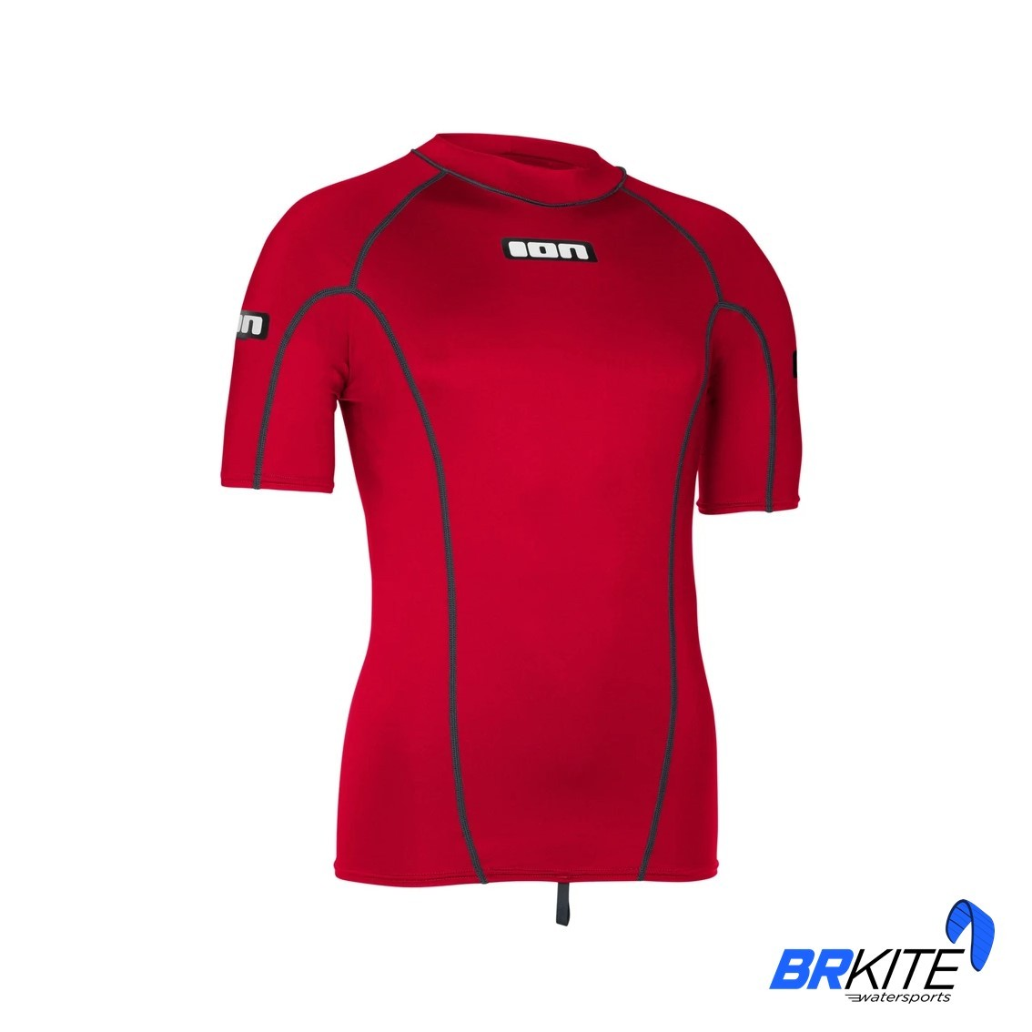 ION - LYCRA RASHGUARD MEN MANGA CURTA PROMO SS 2019 RED