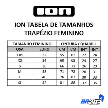 ION - TRAPEZIO FEMININO NOVA CURV 10 2020