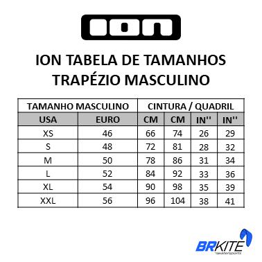 ION - TRAPEZIO MASCULINO RIOT CURV 9 ROPE BLACK 2019
