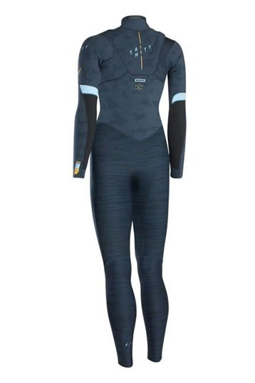 ION - WETSUIT WOMEN TRINITY AMP SEMIDRY 3/2 FZ DL DARK BLUE - 2020