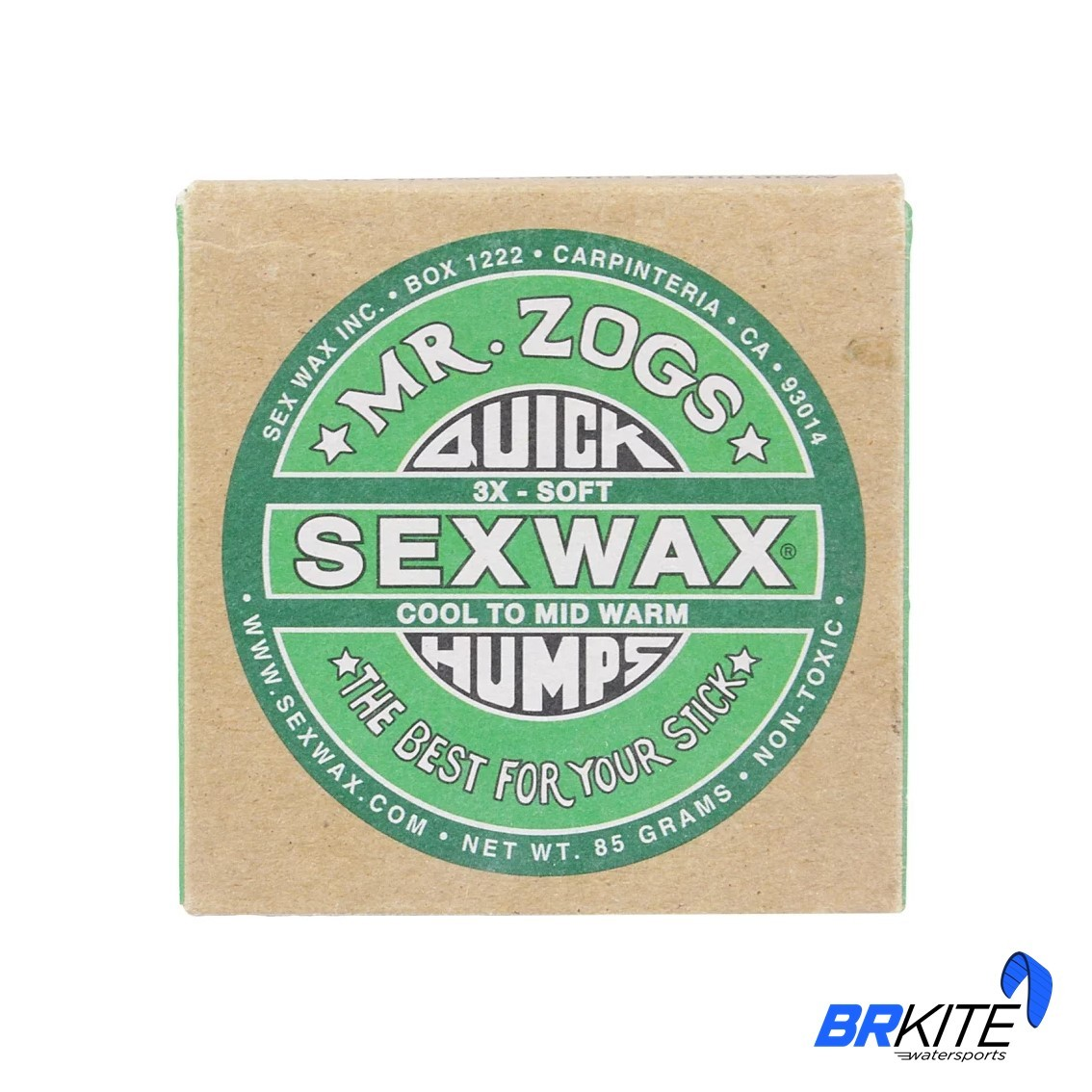 SEXWAX - PARAFINA QUICK HUMPS 3X VERDE - COOL TO MID WARM