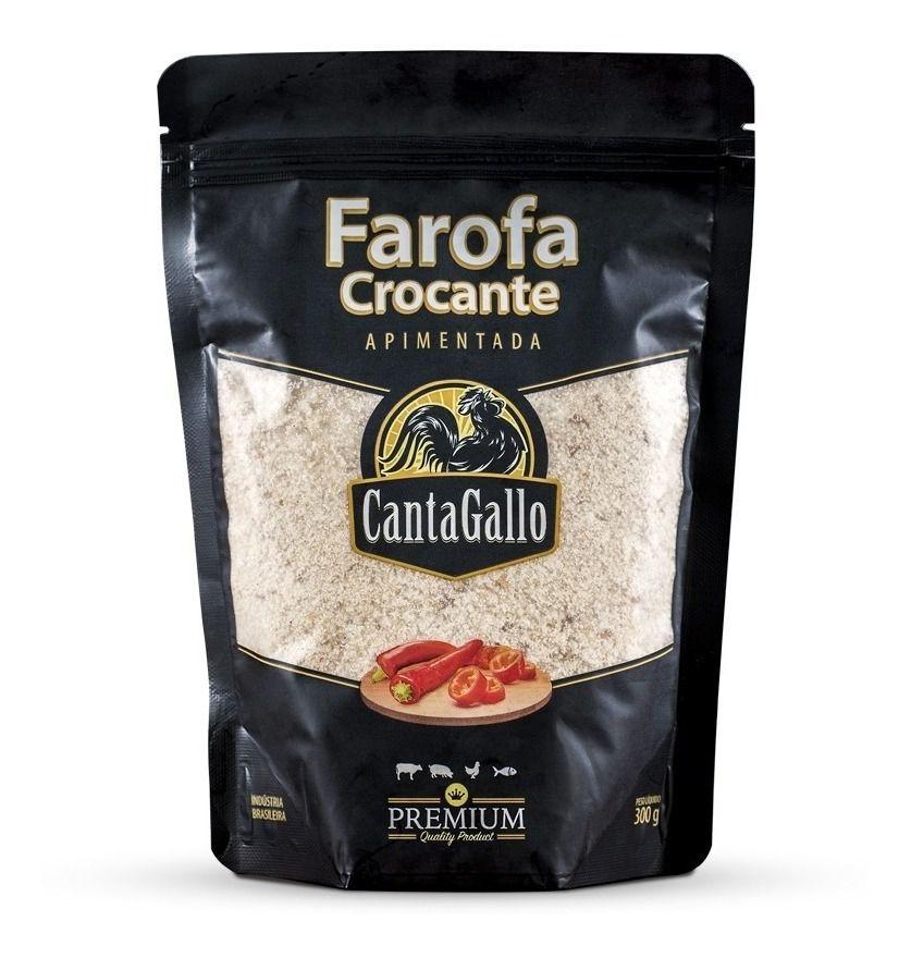 FAROFA APIMENTADA CANTAGALLO 300gramas
