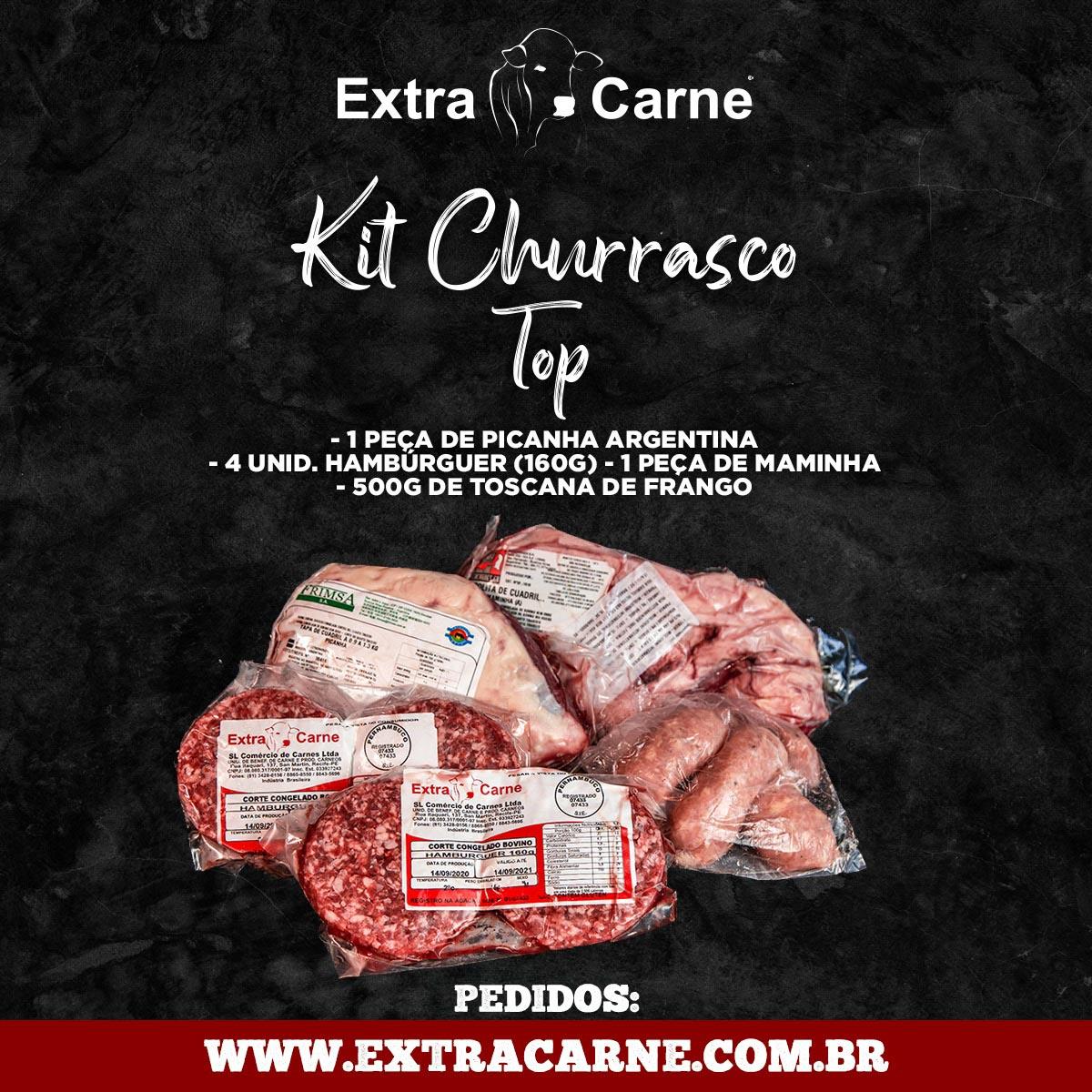 KIT CHURRASCO TOP