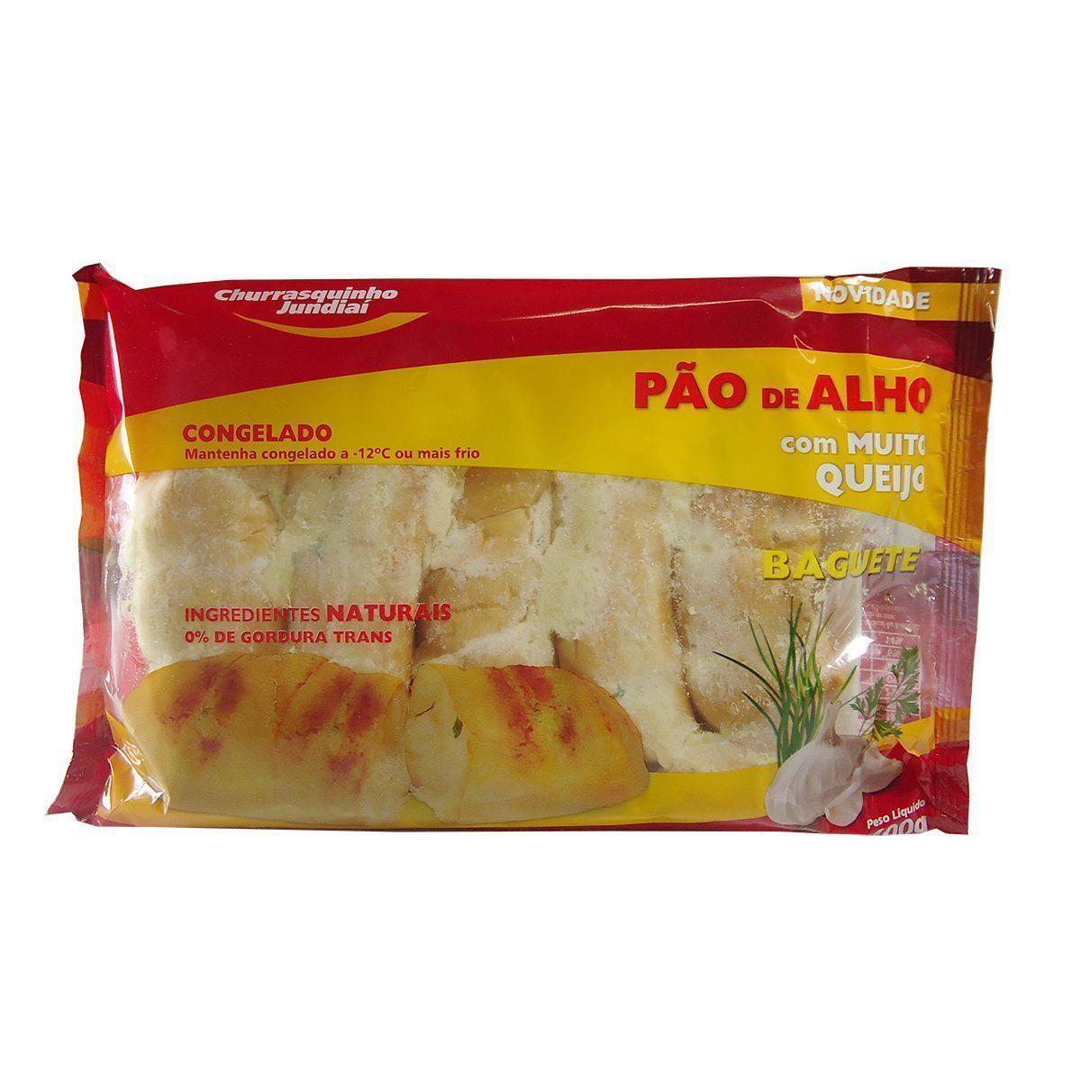 PAO DE ALHO TRADICIONAL PESO LIQ 400 gramas