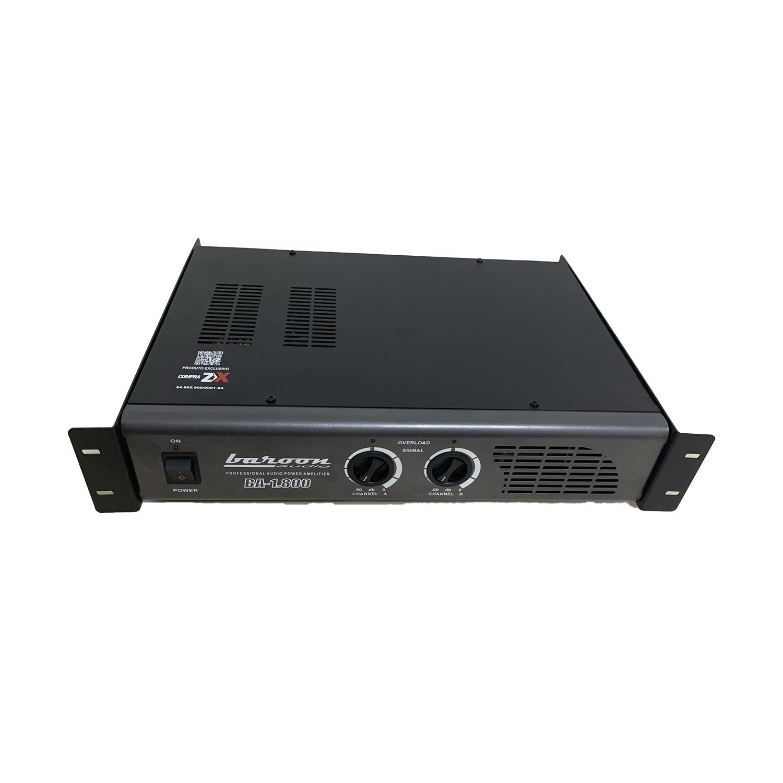 Amplificador de Potência Baroon BA 1.800 300W