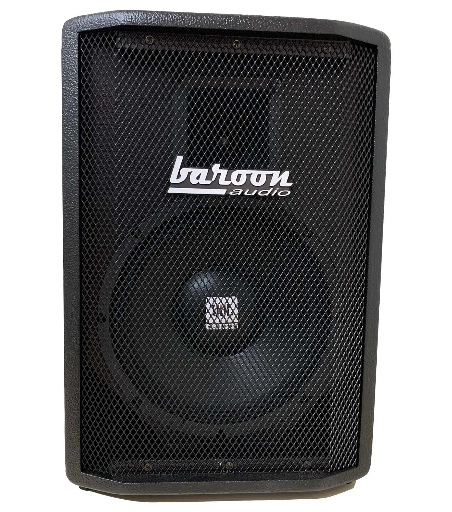 """Caixa Ativa Baroon BA10s Bluetooth AF 10"""" e Driver Titânio 200W Preto"""