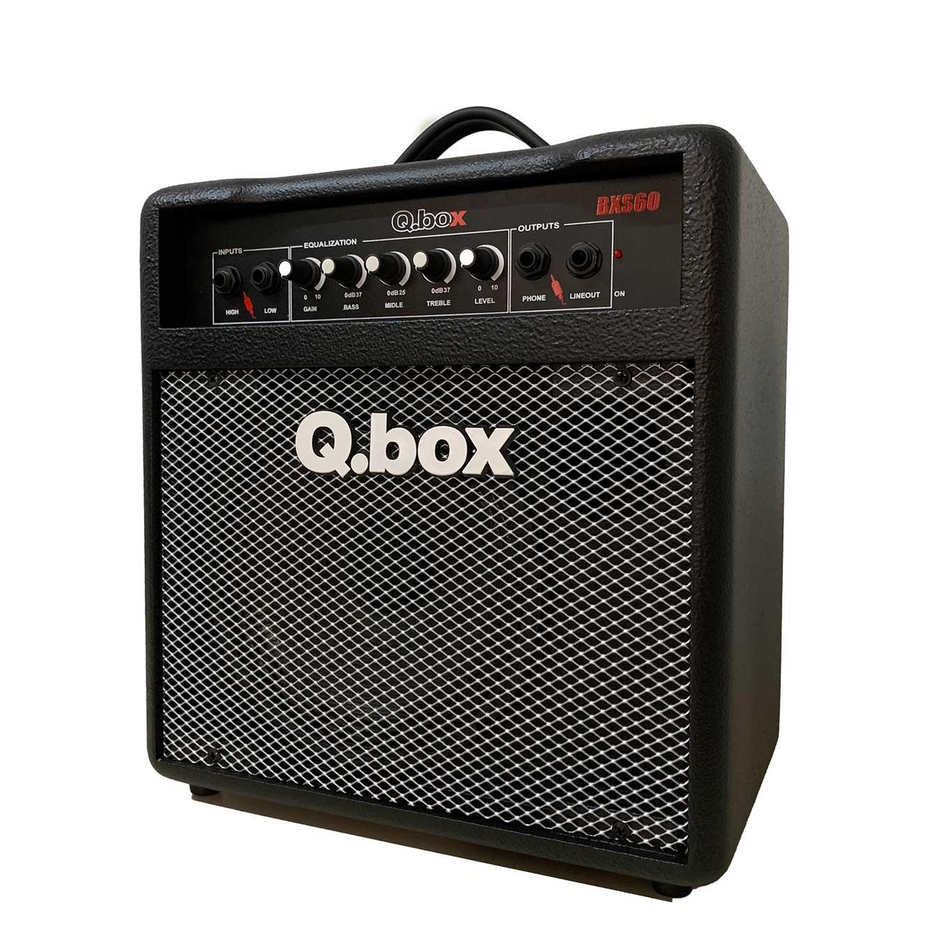 Cubo para Baixo Q.Box BXS60 Estudo 60W