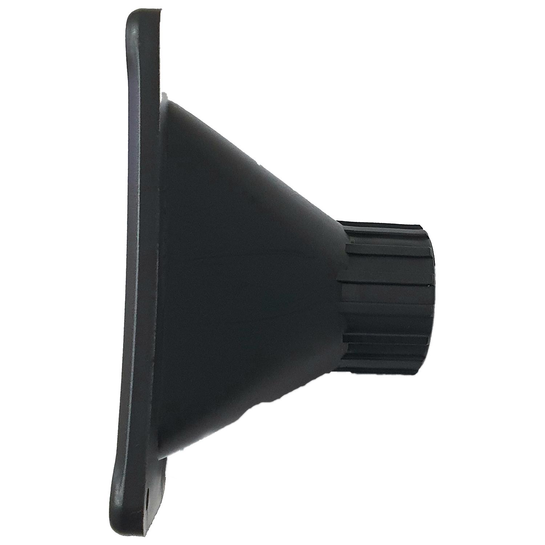 Par Corneta para Driver Cone Plástico para Som Automotivo ou Profissional