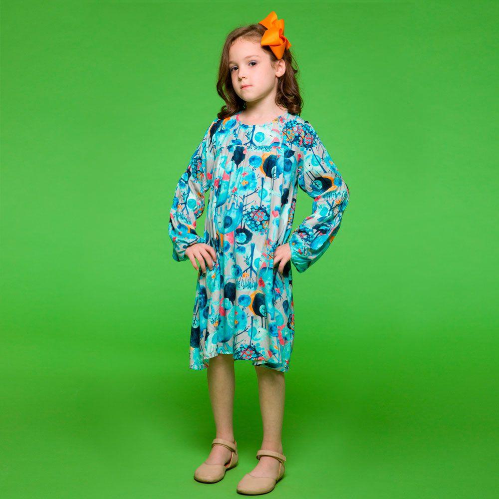 Vestido Manga Longa