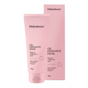 Gel esfoliante facial