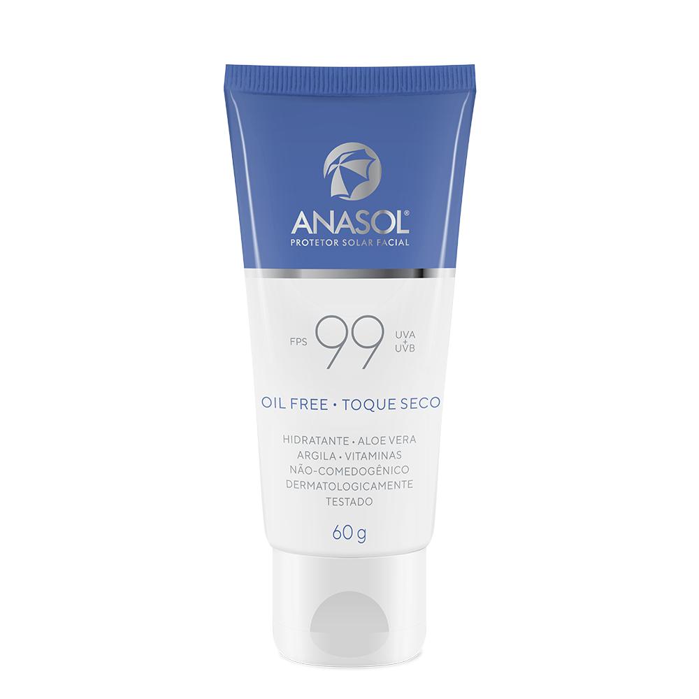 Anasol Protetor Solar Facial FPS 99 - 60 g