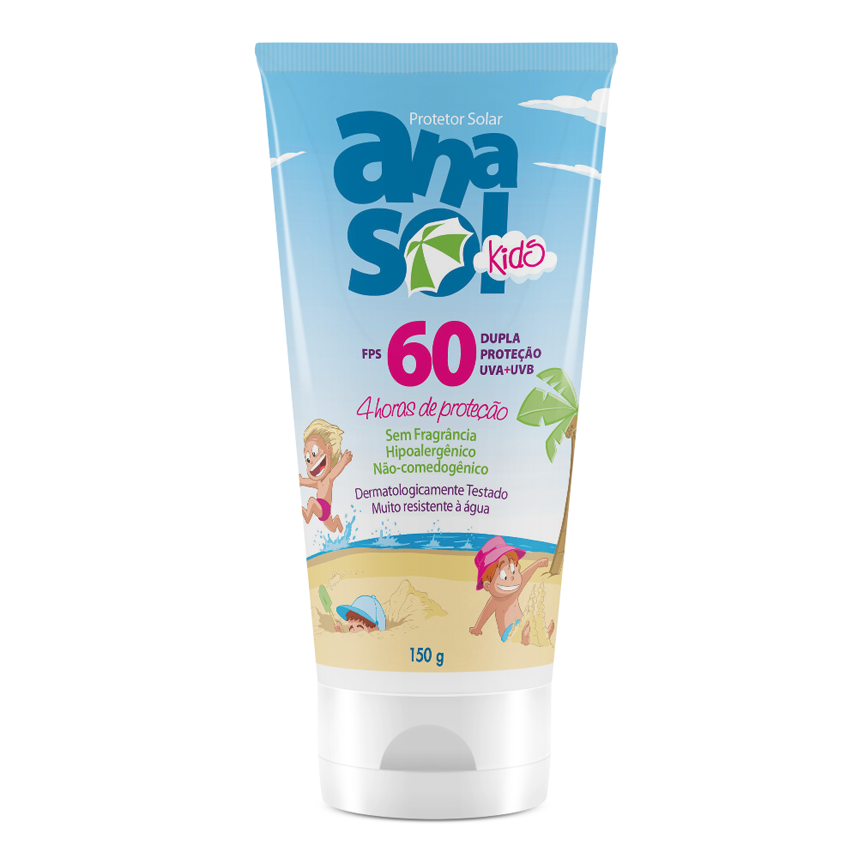 Anasol Protetor Solar KIDS FPS 60 - 150 g