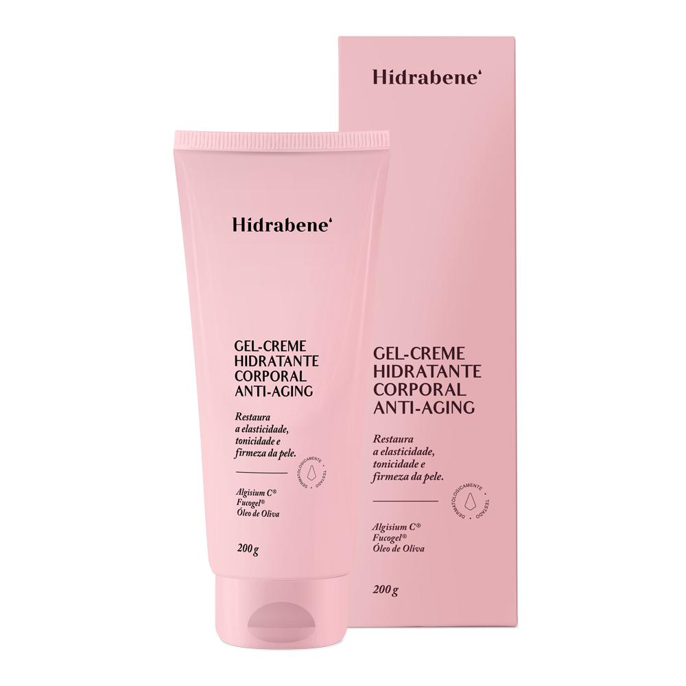 Gel-Creme Hidratante Corporal Anti-Aging - 200 g