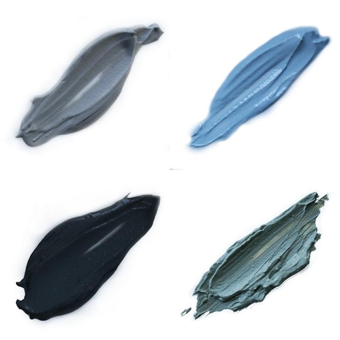 Kit completo de argilas para peles oleosas