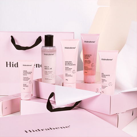 Kit Hidrabene Rotina Facial