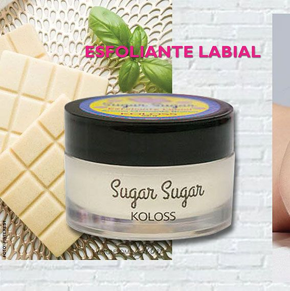 ESFOLIANTE LABIAL CHOCOLATE BRANCO Koloss Make Up